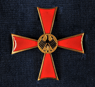 The Grand Cross 1st class of the Order of Merit of the Federal Republic of Germany.