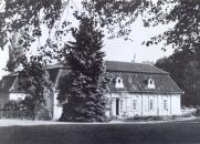 Zámek Lojovice v r. 1945
