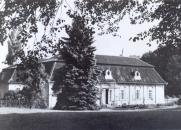 Castle Lojovice in 1945