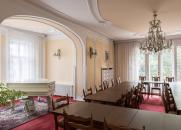 Interior of the Elementary School Olešovice in 2018 – common room