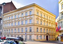 Budova Pedagogické knihovny, Archiv P. Pittra a O. Fierzové, Jeruzalémská 12, Praha 1